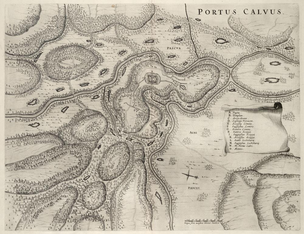 Map of Porto Calvo and environs