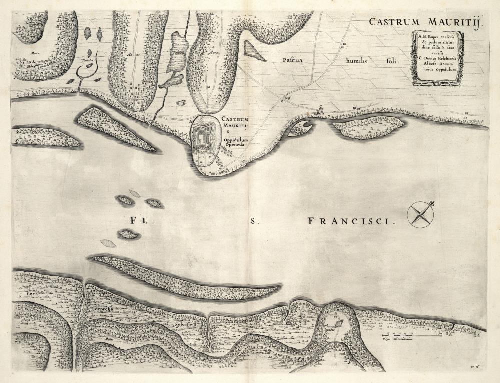 Fort Maurits on the Rio Francisco