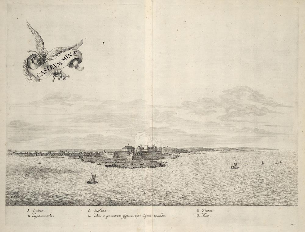 View of the fort of El Mina