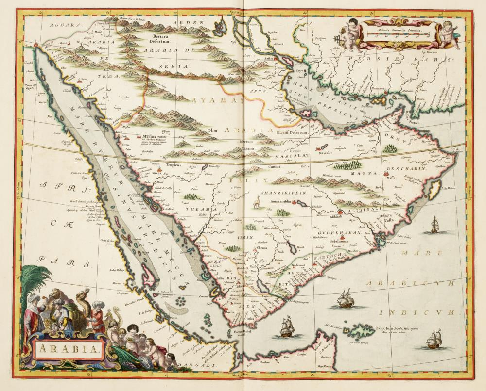 Map of Arabia