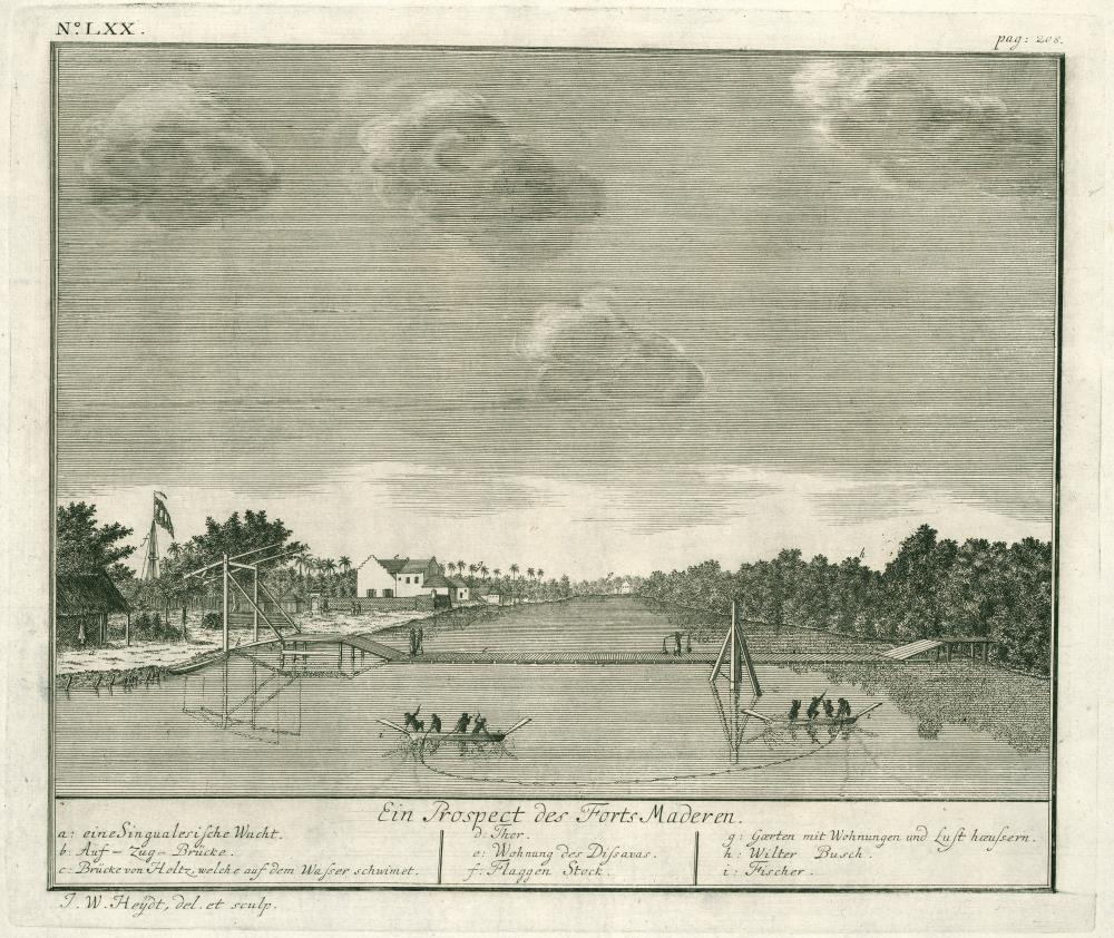 View of the fort on Matara