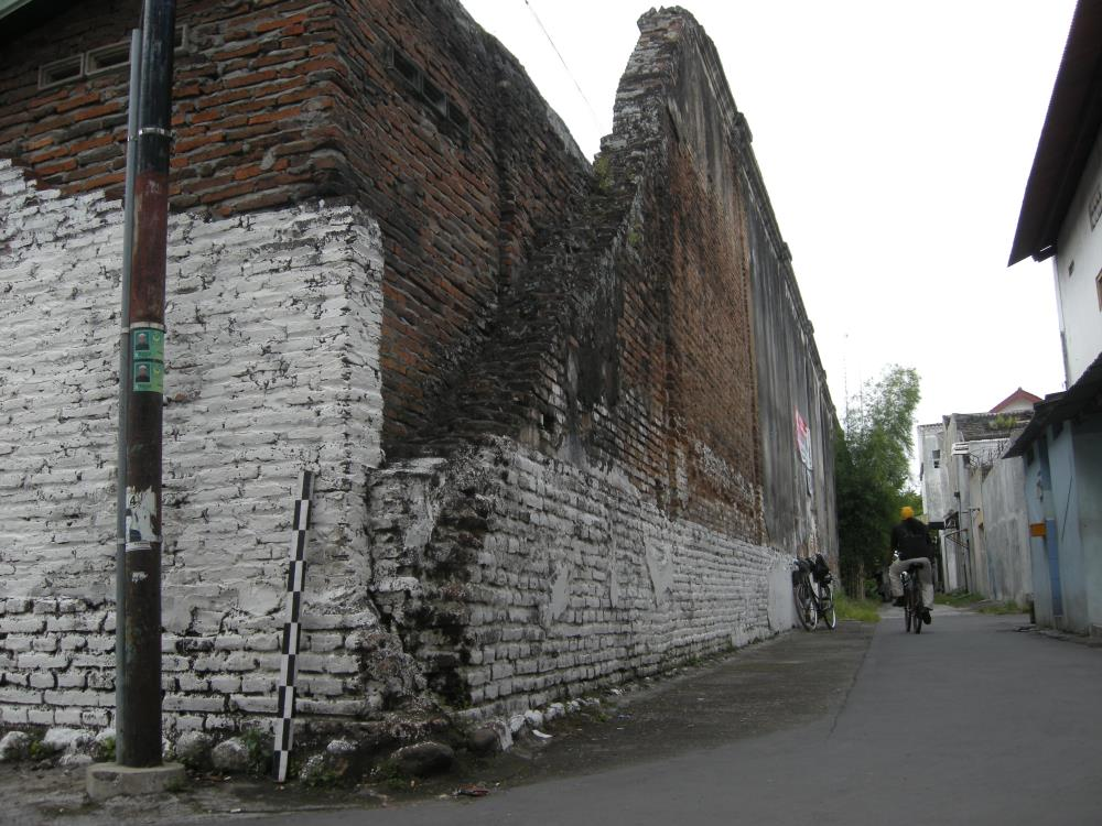 Defensive walls of the Kraton of Surakarta