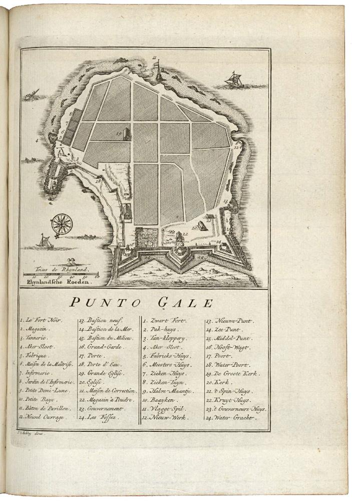 Map of Punto Galle