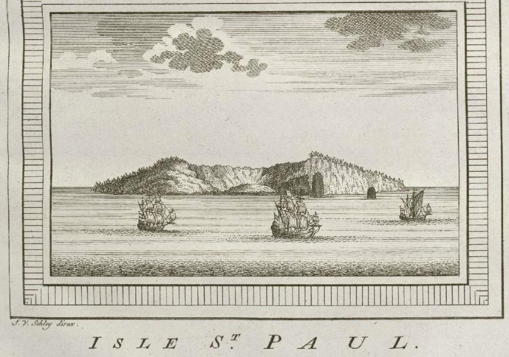 View of the island of St. Paul