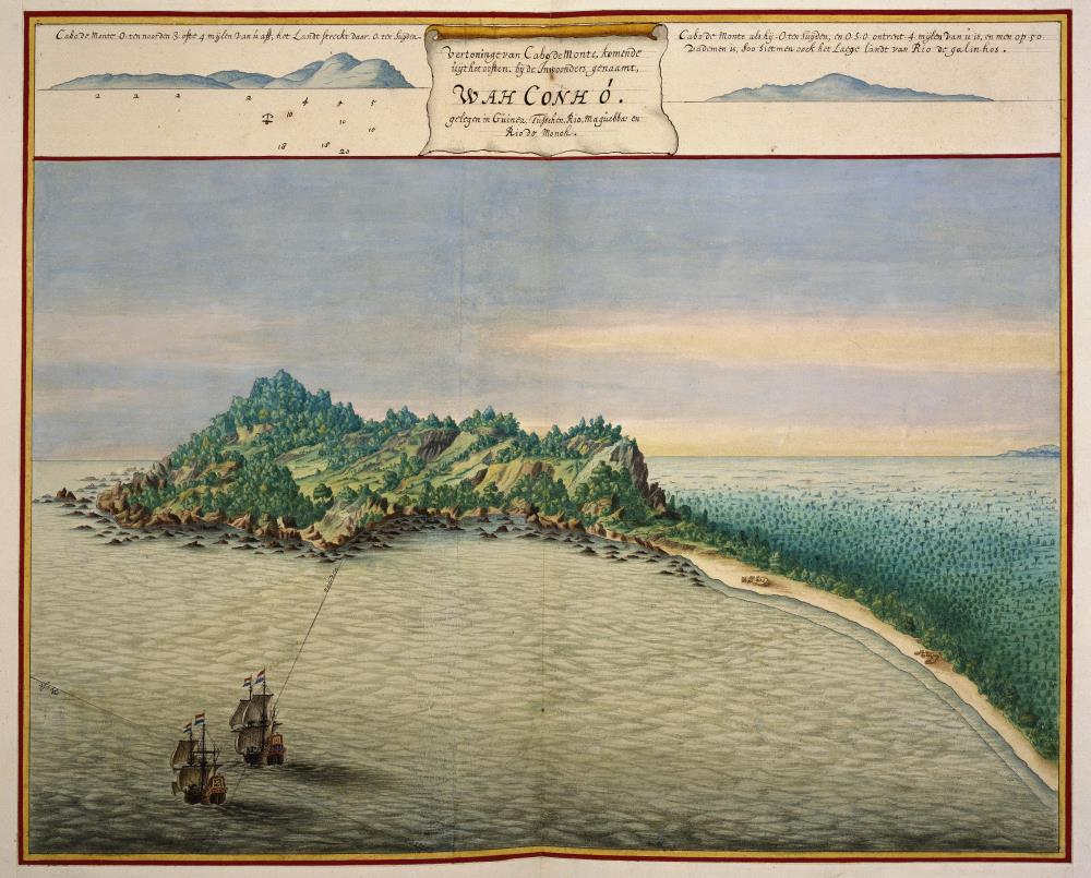 Bird's eye view of Cape Mount