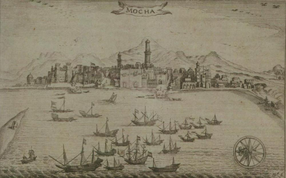 View of the city of Mocha