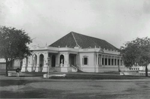 View of the theatre in Batavia