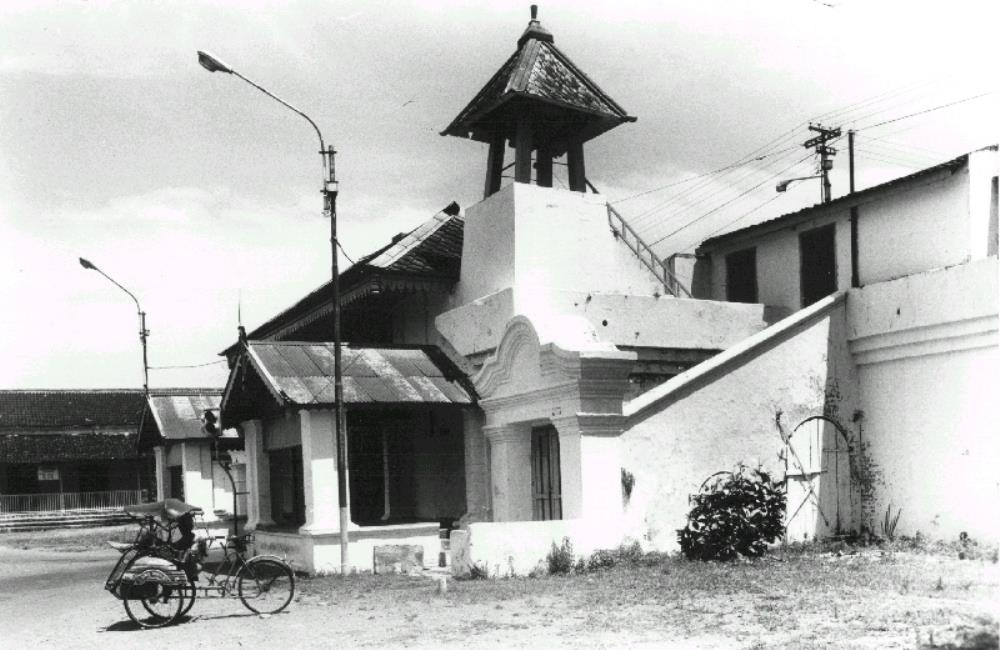 Guardhouse of the 'kraton' at Surakarta