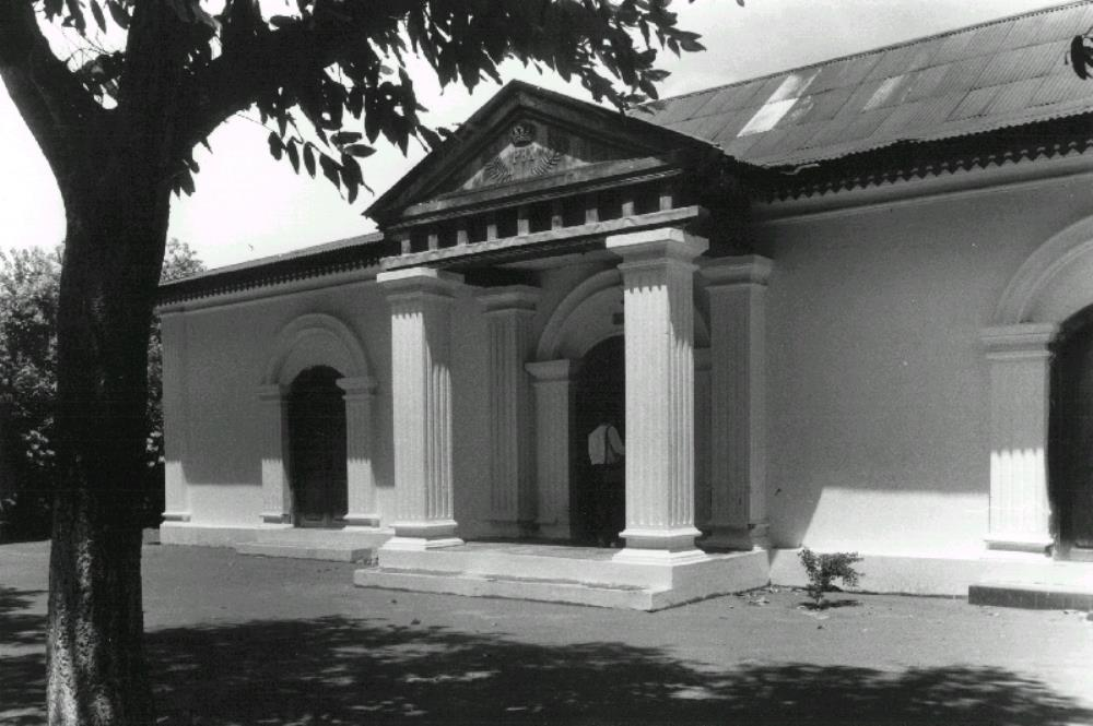 Pavilion of the 'kraton' at Surakarta