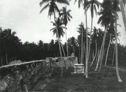 Walls of Fort Speelwijck at Banten