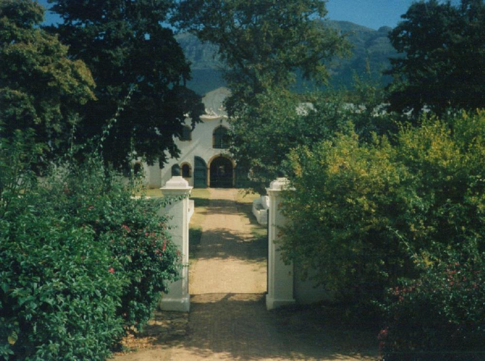 Wine cellars of Groot Constantia, the governor's country estate