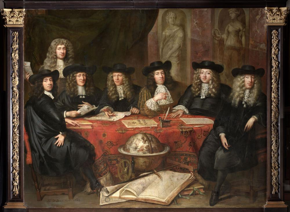 Six of the gentlemen governors of the Hoorn chamber
